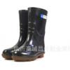 厂家直销双色矿工劳保双色雨鞋防滑耐磨耐酸碱男士中筒水鞋水靴