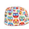 跨境厂家纯棉手术帽医生帽印花帽厨师包头帽麻醉师帽子ICU护士帽