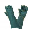厂家长期供应加长款羊皮防护手套 焊工专用防护手套 14寸耐磨手套