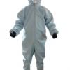 现货厂家直销连体式防化服 重复使用简易白色防护服批发