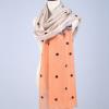 2017时尚淑女羊毛围巾知性女士披肩内蒙古羊毛80支纱保暖围巾批发