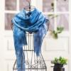 纯羊毛围巾抽须数码印花礼品长巾专业工厂来图来样定做19新款女中