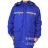 厂家供应劳保服蓝色防静电反光纯棉劳保工作服 耐磨吸汗劳保套装