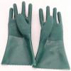 厂家批发耐油丁腈手套 工业劳保丁腈手套 绿色家用洗碗橡胶手套