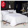新款宾馆酒店床上用品 全棉贡缎四件套 提花酒店床单被套 羽毛花