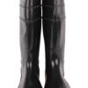 天津【丽泰】黑色加厚牛筋底 耐磨防滑耐油 耐酸碱 橡胶高筒靴