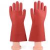 盛安12kv绝缘手套 高压橡胶2500v手套带电作业电工手套