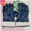 康虎安全口绒布丁腈全浸胶手套耐油耐酸碱耐磨防水劳保防护手套