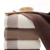 纯棉32股蜂窝浴巾吸水支持定制LOGO公司礼品赠品厂家直销批发