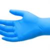 一次性丁晴手套 一次性丁腈9寸A级食品级蓝色乳胶橡胶手套pvc家务