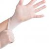 一次性手套蓝色高弹pvc无粉防护食品级100只盒装厂家直销量大从优