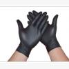 一次性手套耐磨加厚黑色PVC橡胶防水塑胶防护检查手套