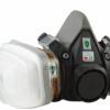3M6200防毒面具主体喷漆化工业气体粉尘异味农药实验防毒面具
