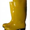 厂家直销亮光面钢头钢底耐酸碱劳保雨靴防砸防刺雨靴防滑工矿雨鞋