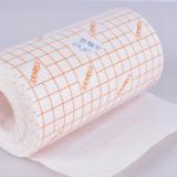 品质选材 医疗胶带 橙色网格水刺无纺布5m一卷 敷药固定质地柔软