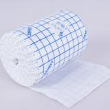 厂家直供医疗胶带敷药固定蓝方格油胶水刺无纺布胶带规格齐全