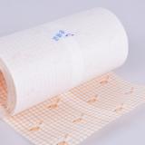 医用胶带卷材橙色网格pu10m网格高透PU卷材敷药固定网状透气