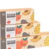 厂家直销大号自封口食物储存袋 透明袋装食品袋 抽取式食物保鲜袋