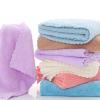 珊瑚绒方巾幼儿园小毛巾通用口水巾30*30擦手巾高密手帕厂家批发