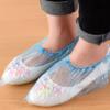 A079家用一次性鞋套 加厚家居塑料鞋套防尘防滑鞋套100只装