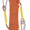 8mm高强涤纶逃生安全绳 耐磨损高空作业户外登山攀岩尼龙保护绳