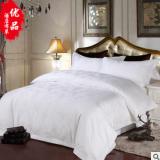 宾馆酒店被套床单四件套 全棉贡缎提花四件套 酒店布草床上用品