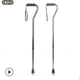 好步铝合金可伸缩单拐拐杖 老人超轻耐用手杖拐棍 厂家直销登山杖