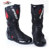新款PRO-BIKER摩托车赛车靴 骑士装备长靴子 越野车靴B1001骑行靴