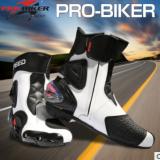 PRO-BIKER 摩托车鞋子赛车长靴越野靴竞赛鞋越野骑士靴A004