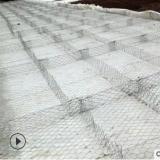 石笼网铁丝网河道石头袋子笼子,河床垫治理网兜铅丝网定制现货