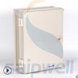 400*300*180mm密封防水箱 PVC防腐配电箱 塑料仪表箱
