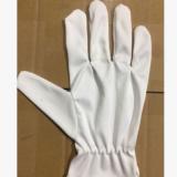 超细纤维无尘布手套高档珠宝礼仪白色手套仪器文玩不掉毛无尘手套