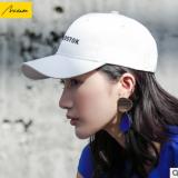 美哒哒黑色帽子女夏天学生街头鸭舌帽潮人遮阳帽白色棒球帽太阳帽