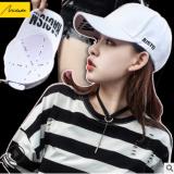 美哒哒春夏新款棒球帽韩版百搭潮人学生帽子女士字母鸭舌帽太阳帽