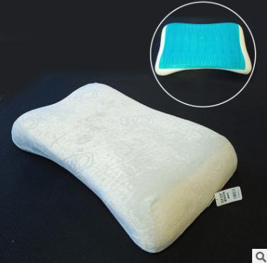 厂家直销记忆枕长方形单人冰凉枕头成人慢性回弹乳胶枕护颈椎枕
