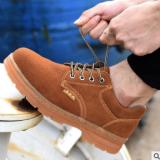 供应翻毛劳保鞋钢包头防护鞋安全鞋防砸防刺穿轻便工作鞋耐磨批发