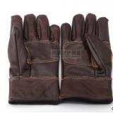 供应耐磨牛皮劳保防护手套 电焊手套结实耐用