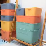 床底衣柜带盖收纳箱子塑料大号装衣服玩具整理箱衣物收纳盒储物箱