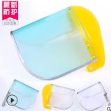 厂家直销支架式面罩防油溅电焊面罩劳保防尘面罩面具呼吸面罩