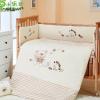 厂家直销小乐娃婴儿宝宝童床上用品幼儿园围床单四件套