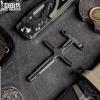 自由兵多功能战术防身便携EDC破窗工具钛合金挂件男女十字架项链
