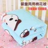 婴儿棉被宝宝床上用品全棉被子幼儿园新生儿童被春秋冬季可改睡袋