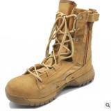源头工厂跨境专供025外贸训练作战靴荒漠靴沙漠靴沙色作战靴