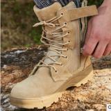 跨境专供源头工厂阿木作战靴沙漠靴高帮战术靴尺码齐全沙色作战靴