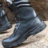 源头工厂直销新款长空男士军靴户外战术靴士兵训练靴子丛林靴