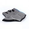 骑行手套 半指防滑自行车登山训练手套 户外运动反绒皮手套现货
