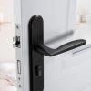 北欧金色门锁室内卧室家用静音磁吸房门锁具分体轻奢房间木门把手