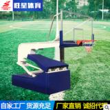 产地货源 电动液压篮球架户外移动篮球架 可升降液压篮球架可定制