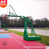 室外篮球架 户外移动篮球架 平箱仿液压篮球架
