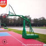 篮球架移动标准成人户外凹箱平箱仿液压篮球架室内儿童升降可移动